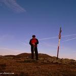 ....Gipfel des Speikkogel (1993 m) geschafft....