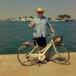 """aber für mich einfach unmöglich, 2 Stunden am Strand und """"ich haben fertig."""" Radfahren, einfach aktiv im Urlaub, voll cool"""