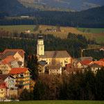 Wenigzell., da ich gestern bereits den Weg vom Dorf gewandert bin, erspare ich mir heute den Abstieg