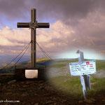 ....am Gipfel des Stuhleck (1782 m)...