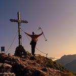 ....Stadelstein (2070 m), der Höhepunkt meiner heutigen Wanderung....