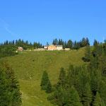 mein erste Ziel für heute ist die Wolfratshauser Hütte (1751 m)
