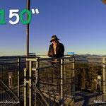 ...heute bereits meine 150. Wanderung auf die Wildwiese absolviert, bei der Fernsicht ein wenig länger in die Steiermark geschaut....