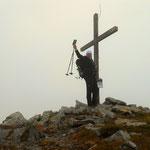 am Gipfel der Lungauer Kalkspitze - 2471 m