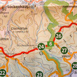 Tour von Tag 3, Karte aus der Wanderkarte von Alpannonia