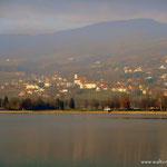letzte Runde um den See, ein Blick nach Stubenberg am See