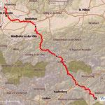 Mein Gedenkmarsch, 7 Tage, 204 km, 3860 hm