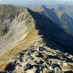Abstieg über die Westflanke zum Kl. Bösenstein