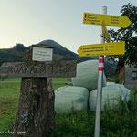 Ausgangspunkt der heutigen Tour, die Bergerhube im Triebental......