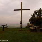...der Gipfel ist erreicht Hochkogel (711 m)....