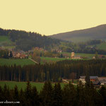 ...sowie ein Blick nach St. Jakob im Walde....