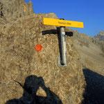 ...und der Anstieg auf das Flarschjoch 2464 m erfolgt...