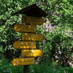 ....eine kurze Wanderung von Semriach und man steht wieder bei der Kerschbaummühle, dem Einstieg in die Kesselfallklamm...