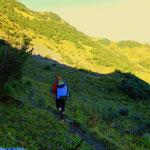 Mein Weg führt mich am Stechweidweg hinüber zur Gaviser Höhe...