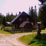 ...die Hauereck Schutzhütte....