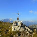 ...zum Alperschonjoch auf 2301 m