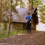 ....kurze Pause, Kerschbaummühle, der Ein- bzw. Ausstieg aus der Kesselfallklamm...