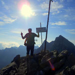 ....gelangt man zur Großbergspitze auf 2635 m