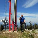 Die Mugel ist erreicht 1630 m hoch