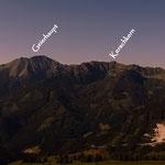 noch einige Gipfelnamen