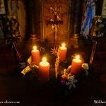 20.12.2020 - Die 4. Kerze ist entzündet, nun dauert es nicht mehr lange und der Heilige Abend, Weihnachten steht vor der Tür....