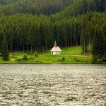 wieder am Ingeringsee mit Blick zur Klementikapelle