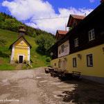 ...jetzt ganz nah, Gasthaus Obersattler, nur noch 3 Stunden bis zum Schüsserlbrunn, yeah....