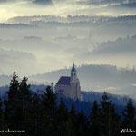 ....auch die Wallfahrtskirche in Pöllauberg konnte wieder ausgemacht werden.....