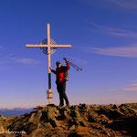 .....Ameringkogel (2187 m) der höchste Gipfel der heutigen Tour....