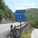 nicht mehr weit bis Terni