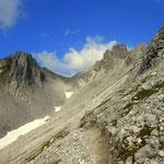 ....und hinauf zum Valfagehrjoch auf 2543 m, hier habe ich das westlichste Bundesland, Vorarlberg, erreicht