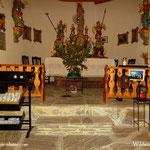 ....die Kerze wurde in der geschmückten Kapelle erneuert und eine kleine Andacht abgehalten, Weihnachten 2020 ist eben anders....