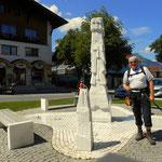 das heutige Etappenziel, Ehrwald, ist erreicht