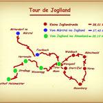 Das war meine Tour de Joglland, voll cool