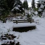 ....doch eine stattliche Schneemenge angekommen.....