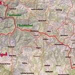 """...die gesamte Strecke des """"Alpannonia"""". Meine 5 Wandertage bis Köszeg."""