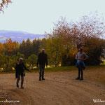 23.10.2020 - Ein Familienwandertag, hinauf auf die Wildwiese, zu einer guten Jause....