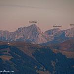 ...Blick in die Eisenerzer Alpen...
