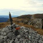 am Gipfel des Predigtstuhl's 1902 m