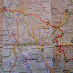 Tour von Tag 2, Karte aus der Wanderkarte von Alpannonia