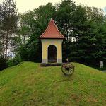 ...an der Straße ein schöner Bildstock, der letzte, den jetzt geht es nur noch über Asphaltstraßen nach Eibiswald