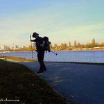 ....ja, Wien, der Donauturm, die UNO City....