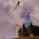 ....vorbei am Windpark am Fürstenkogel....
