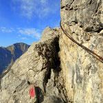 weiter geht es über das Großbergjoch 2493 m.....
