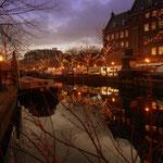 Weihnachtsstimmung am Markt in Leiden