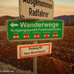 Start am Stubenbergsee in Richtung Geierwand (630 m)....