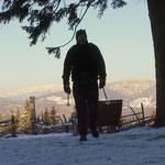 ....ja, es ist zäh, aber immerhin heute bereits meine 10. Wanderung auf die Wildwiese und das bei -14°C....