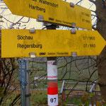 entlang am Weitwanderweg 07 bis Söchau