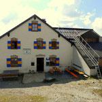 Leutkircher Hütte auf 2251 m