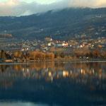 Blick über den See nach Stubenberg